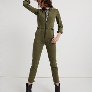 LUCKY BRAND AVIATOR JUMPSUIT NWT SIZE 26